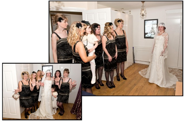 'The reveal' - a most important part of a brides preparations!