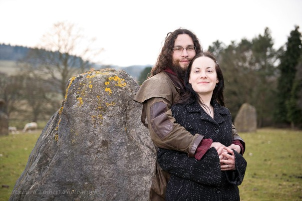 North Wales stone circles are great places for engagement shoots