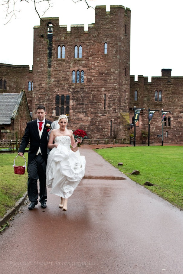 Peckforton Castle makes for a wonderful place for a ceremony and a blessing