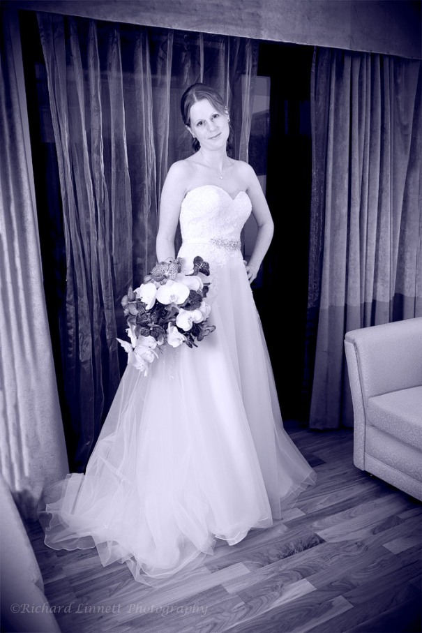 Portrait of the bride - casual