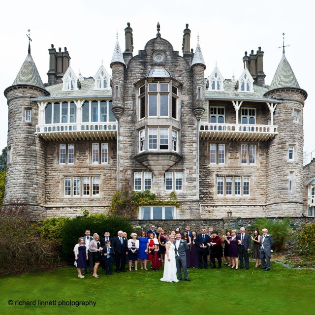Chateau Plas Rhianfa, a place for a fairytale wedding