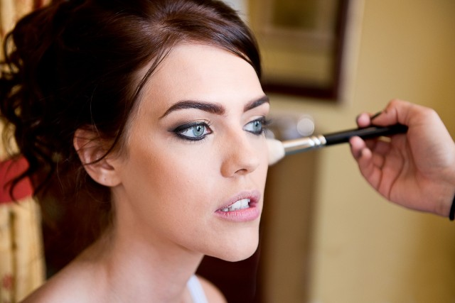 Brides must look their best and everyone works hard