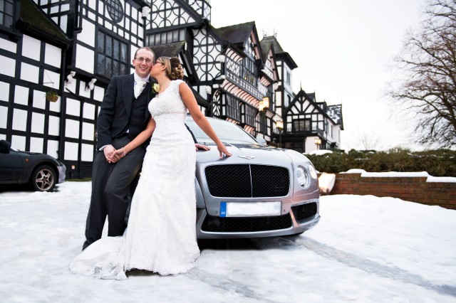 Winter weddings are very different and very special