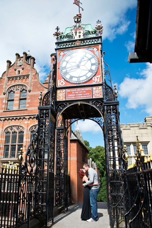Chester Clock a place for blind dates and engagements