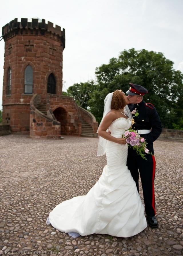 Shrewsbury Castle wedding.