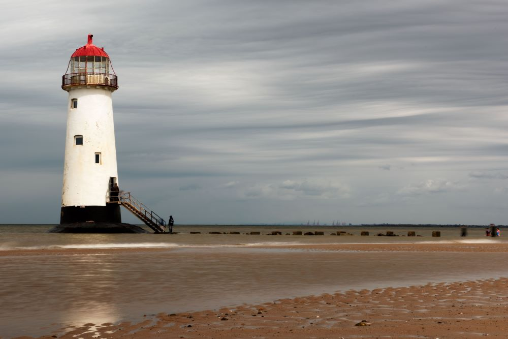 Point of Ayre Lighthouse at Talacre.